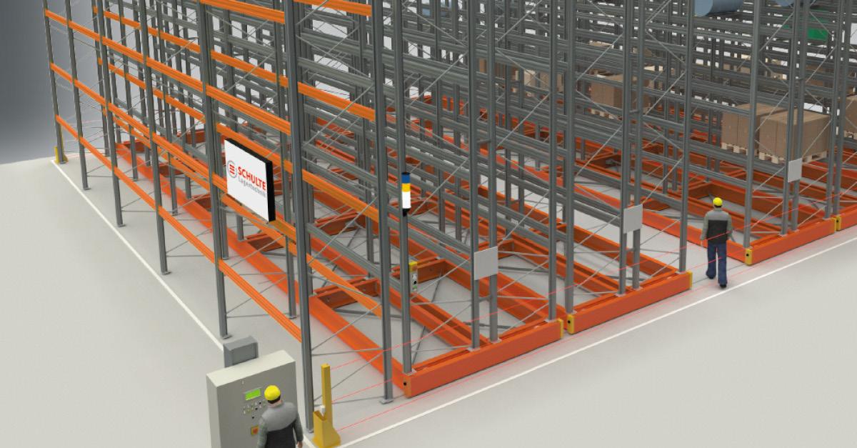 Verschieberegale: Lagerkapazität steigern und Kosten minimieren